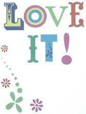 """""""Love It! Thanks So Much!"""" THANK YOU CARD Recycled Paper Greetings"""