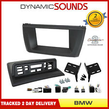 CT23BM15 Double Din Stereo Fascia Panel & Relocation Kit for BMW X3 2003-10 E83