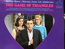 Bobby Bare Norma Jean Liz Anderson: The Game Of Triangles 1967 Lp Nm/M+bonus Cd