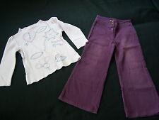 KOOKAI * Designer set mädchenset pantalon + chemisier * 4 A * taille 104