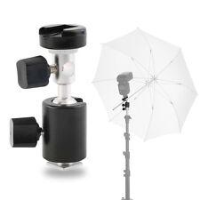 360¡ã Swivel Type C Flash Shoe Umbrella Holder Light Stand Bracket for Canon GT