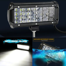 6.5 Inch 72W Led Work Light Bar Off Road 4WD ATV SUV Fog Driving DRL Lamp IP68