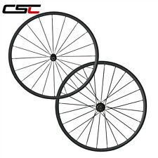 1060g only Super Light 24mm Tubular Carbon road wheelset Novatec A291SB/F482-SL