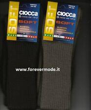 Calzini lunghi da Uomo di CIOCCA Made in Italy - Art. 501 Marrone unica