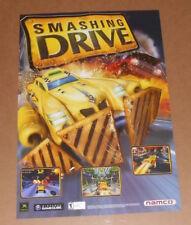 Smashing Drive/Airblade 2-Sided Video Game Poster Original Promo 14x20.5 Xbox