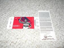 Washington Wizards Unused Ticket VIP Bradley Beal 2017 New York Knicks