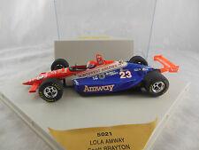 Onyx 5021 Lola Amway Racing no 23 Indy Car Scott Brayton 1:24 Scale Grey base