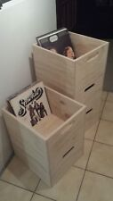 Vinyl record storage crate,Vinyl Records storage box