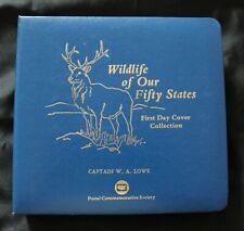 USA 'Wildlife of our 50 States' FDC Collection
