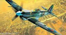 "Model Airplane Plans (FF): Spitfire LFR Mk-XIV.e Scale 26½"" for .5-75cc (.049ci)"