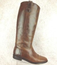 Cole Haan Country Brown Premium Leather Riding Boots Womens Size 7.5 B