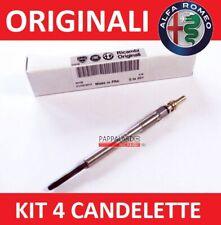 KIT 4 CANDELETTE ACCENSIONE ALFA ROMEO GIULIETTA 1.6 JTDM 120CV MOT 940C1000