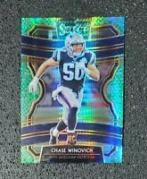 🔥🔥📈 CHASE WINOVICH 2019 Select CONCOURSE DRAGON SCALE RC #'d /88 Patriots