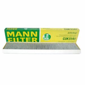Mann-filter Cabin Air Filter CUK5141 fits JAGUAR X-TYPE X400 2.1 V6 2.2 D