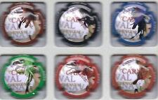 Nouvelle série de 6 capsules de champagne  Perseval a Sacy