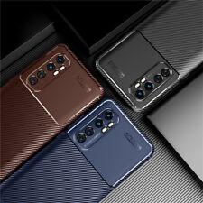 For Xiaomi Mi Note 10 Lite 10 Pro 9T Ultra Slim Carbon Fiber Soft TPU Case Cover