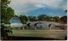 PUEBLO, CO Colorado   BAND STAND Lake Mineral Palace Park     c1950s   Postcard