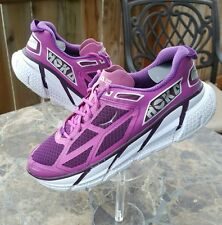 Hoka One One Clifton Women's Size 8 Running Shoes Purple