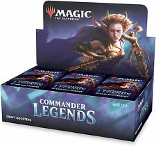 Commander Legends Draft Booster Box Sealed Magic the Gathering
