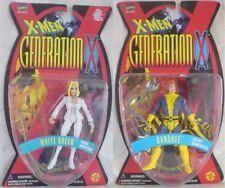 White Queen & Banshee - X-Men Generation X 1996 Toy Biz Marvel action figure Lot