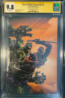 MARVEL ZOMBIES RESURRECTION #1  CGC SS 9.8 SIGNED BY CLAYTON CRAIN