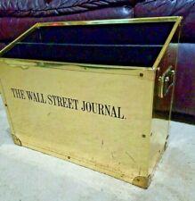 The Wall Street Journal  Display Stand Newspaper Box Rack Magazine Holder