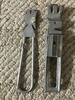 Vintage Aluminum Mower Tool Select Pro Pat Pend. Knife Guide Sharpener USA
