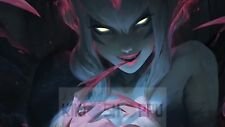 Poster A3 League Of Legends Jinx Ziggs Crazy Champ LOL Videojuego Videogame
