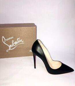 Christian Louboutin 'So Kate' Shoes n.39,5 Woman Black Leather 12cm 20