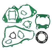 Motor Engine Crankcase Cover Cylinder Top End Gasket Kit for Honda CR250R 1988