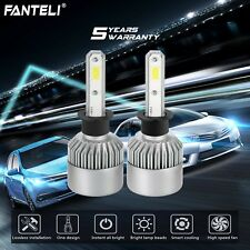 H3 6000K White CREE High Power LED Fog Light Driving Bulbs Foglight Kit 232500LM