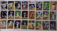 2010 Topps Series 1 & 2 New York Mets Team Set of 24 Baseball Cards