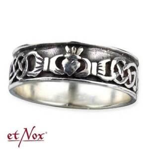 Claddagh Ring Celtic Ehering Freundschaftsring Verlobungsring 925er Silber R158