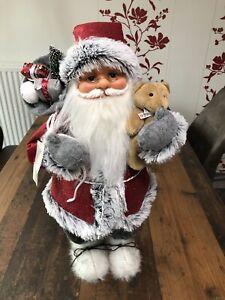 Weihnachtsmann Nickolaus Figur 60 Cm Groß Weihnachtsdeko