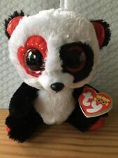 Ty Beanie Boo Boos VALENTINA the Valentine s Panda 6