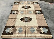 Authentic Hand Knotted Woven Vintage Wo 00006000 ol Kilim Kilm Area Rug 8 x 5 Ft (741 Kbn)