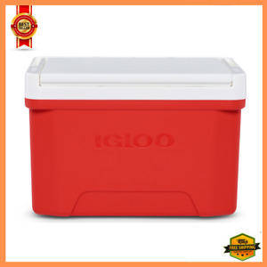 NEW Igloo 9 Quart Laguna Ice Chest Cooler, Red Color - 13 Can Capacity