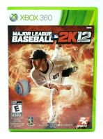 Major League Baseball 2K12 MLB Microsoft Xbox 360 X360 CASE ONLY (NO GAME)