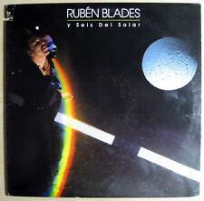 Ruben Blades - Y Seis Del Solar - Agua De Luna 1987 EX+ LP Elektra LISTEN NOW