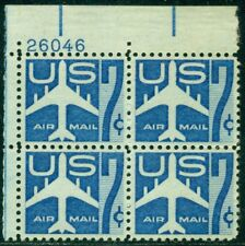 Scott # C-51 Plate Block, Mint, Og, Nh, Great Price!