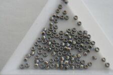 Gold Lined Lt Montana Blue Toho Seed Beads. Size 8 3mm. 300 beads approx. #1841