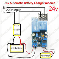 24V 30A Automatic Battery Charging Auto Controller Protection Module Relay Board