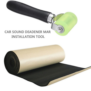 Waterproof Car Soundproof Noise Insulation Sound Deadener WIth Free Roller Tool