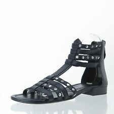 Women's Shoes Franco Sarto ELLINGTON Black Synthetic Sandals Size 6 M NEW