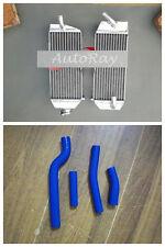 Aluminum Radiator + Hoses for Yamaha YZF450 YZ426F 00-05 / WRF426 WRF450 00-06