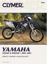 CLYMER YAMAHA R YZ250F, WR250F SERVICE REPAIR MAINTENANCE MANUAL 2001-2003 used