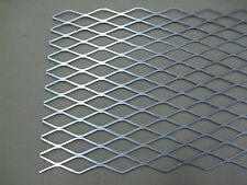 081 Aluminum 12 X 36 Flattened Expanded Sheet 5052