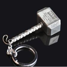 Fashion Marvel The Avengers Thor Thor's Hammer Metal Keyring Keychain Silver
