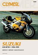 1996 1997 1998 1999 Suzuki GSX-R750 GSXR750 Clymer Repair Service Manual M485