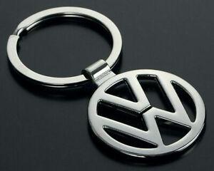 VW VOLKSWAGEN 10D Key Ring Chain Keyring NEW R GTI 2021 Car Logo UK 1X CHROME
